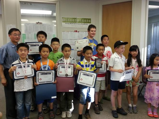 2014 Math Kangaroo PMCA Won Sixteen Gold Medals - Philip MathChess ...